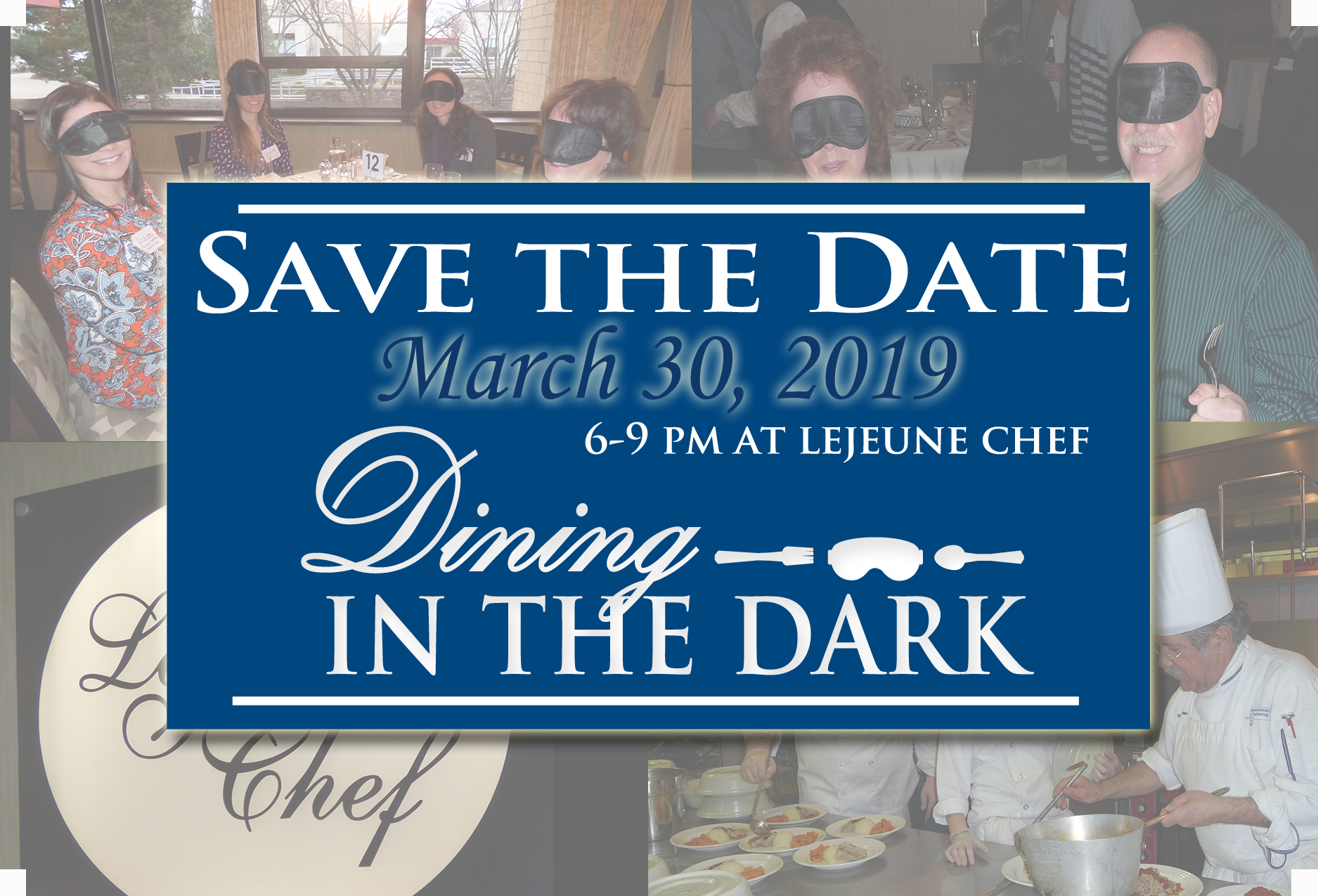 "Dining in the Dark 2019 ""A Feast for Four Senses"""